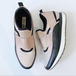 Steve Madden Rose Gold Sneakers